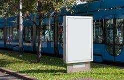 Афиша на улице города Стоковое Изображение RF