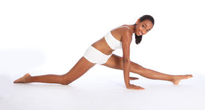 африканская атлетическая потеха тренировки резвится детеныши женщины стоковые фотографии rf