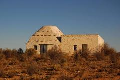 африканская дом фермы Стоковое Изображение
