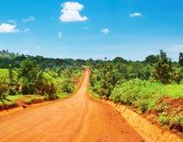 африканская дорога стоковое фото rf