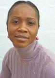 африканская женщина Анголы Стоковое Изображение RF