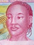 Африканская женщина, портрет стоковая фотография
