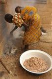 африканская женщина Стоковое Фото