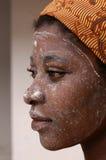 африканская женщина стоковое изображение rf
