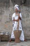 африканская женщина Стоковые Фотографии RF