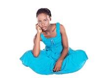 африканская женщина Стоковые Изображения RF