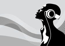 африканская женщина Стоковая Фотография RF
