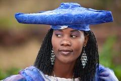 африканская женщина herero Стоковое Изображение RF
