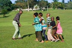 африканская игра игры семьи Стоковая Фотография RF