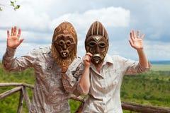 африканская каникула Стоковое Фото