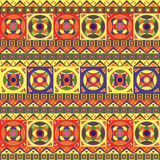 африканская картина безшовная Стоковая Фотография