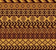 Африканская картина пиксела бесплатная иллюстрация