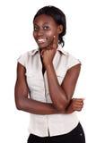 Африканская коммерсантка Amercian Стоковые Изображения RF