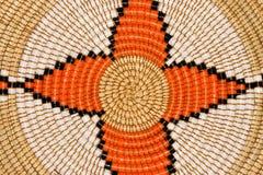 африканская корзина Стоковое Фото