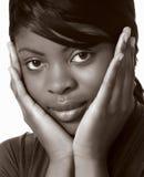 африканская красивейшая женщина стоковое фото
