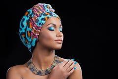 африканская красотка стоковая фотография rf