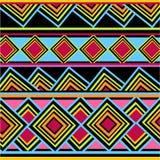 Африканская красочная картина иллюстрация штока