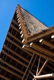африканская крыша стоковое изображение