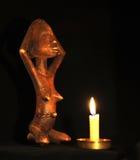 африканская кукла Стоковая Фотография