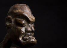 африканская маска черноты предпосылки сверх стоковая фотография rf