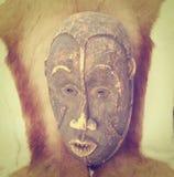 африканская маска Стоковая Фотография