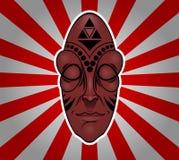 африканская маска Стоковые Изображения RF