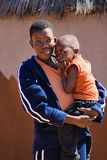 африканская мать ребенка Стоковое Изображение