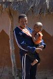 африканская мать ребенка Стоковое Фото