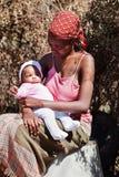 африканская мать Стоковые Изображения
