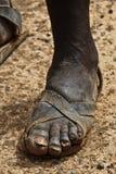 Африканская нога Стоковые Фото