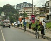 Африканская дорога Стоковые Изображения RF