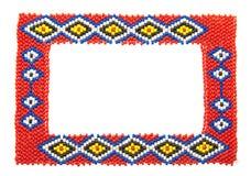 африканская отбортованная изолированная рамкой белизна изображения стоковое изображение