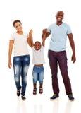 Африканская потеха семьи стоковое изображение rf
