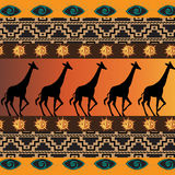 Африканская предпосылка Стоковое Фото
