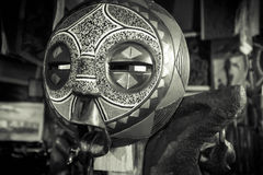 Африканская племенная маска masai Стоковое фото RF