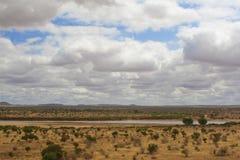 африканская саванна Стоковые Фото