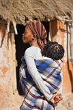 африканская семья Стоковое Фото