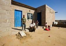 африканская семья Стоковые Изображения