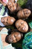 африканская семья стоковые фото