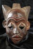 Африканская соплеменная маска - триба Luba стоковые изображения