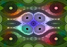 Африканская ткань печати, этнический handmade орнамент для ваших геометрических элементов дизайна, этнических и племенных мотивов Стоковое Изображение RF