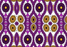 Африканская ткань печати, этнический handmade орнамент для ваших геометрических элементов дизайна, этнических и племенных мотивов иллюстрация штока