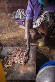 Африканская традиционная кухня Стоковое Изображение