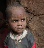 африканская трущоба ребенка стоковое фото rf