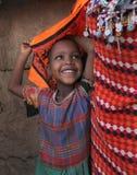 африканская трущоба ребенка стоковая фотография rf