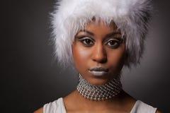 африканская уверенно женщина Стоковое Изображение