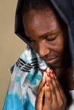 африканская христианская женщина Стоковое Изображение