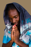 африканская христианская женщина Стоковая Фотография