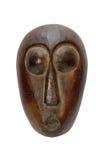 африканская черная маска стоковое фото