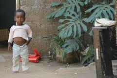 африканская школа детей Стоковые Изображения RF